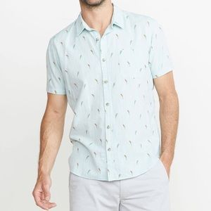 Marine Layer parrot button down
